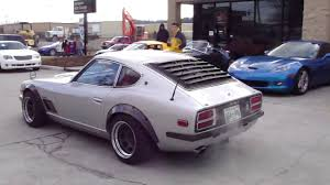 classic datsun 280z 1st gen datsun nissan 280z s30z cars and coffee meet 1 2
