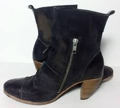 womens boots uk size 10 allsaints black siri motorcycle s boots booties size us 8 5