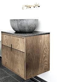 Copper Pedestal Sinks Rustic Pedestal Sink With Rock Bowl Small Copper Rustic