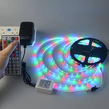 5m smd 2835 dc 12v rgb led strip light led lamp tape rgb remote
