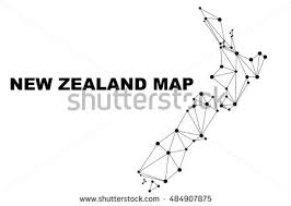 zealand on map zealand map stock images royalty free images vectors