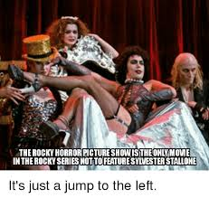 Rocky Horror Meme - the rocky horror picture show stheonlymove in the rocky series