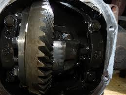 nissan titan rear axle powertrax no slip installed in c200k rear expedition portal