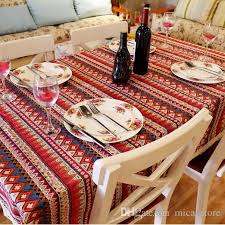 whole mediterranean style table cloth square linens tablecloths