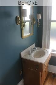 our fixer upper bathroom progress u2014 miss molly vintage