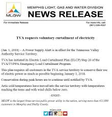 memphis light gas and water customer service update tva has ended its curtailment memphis light gas