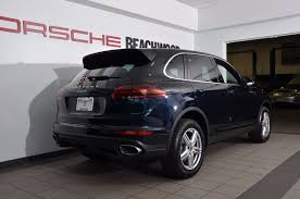 porsche suv 2017 used porsche cayenne awd at porsche of beachwood serving