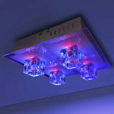 colour changing led ceiling lights ceiling light led ceiling l rgb colour change 4 lshade