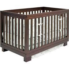 Espresso Convertible Cribs Modern Babyletto Modo 3 In 1 Espresso Baby Crib M6701q Free Shipping