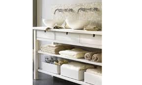 Bathroom Open Shelving Bathroom Storage Open Shelving Care2 Healthy Living