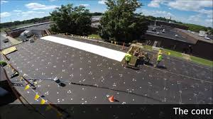 Surecoat Roof Coating by Roofing Spray Foam And Silicone Coating Barron Wisconsin Youtube