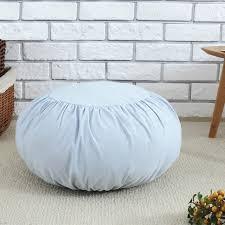 online shop japan style cotton linen decorative round seat cushion