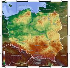 Physical Map Of Germany by Maps Of Poland Map Library Maps Of The World