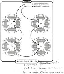 parallel series schematics for amplifier cabinets