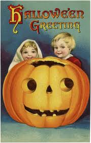 adorable vintage halloween pumpkin kids image the graphics fairy