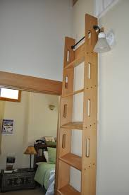 custom made attic access ladder kids room pinterest attic