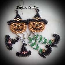 156 best halloween jewelry images on pinterest beads beaded