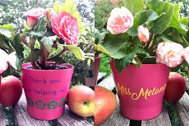 personalized flower pot personalized gifts flower pots the inspired home