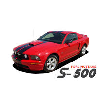 decals for ford mustang ford mustang wildstang s 500 lemans gt500 style 10 wide vinyl