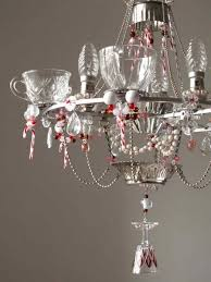 Decorating A Chandelier A Whole Bunch Of Christmas Chandelier Decorating Ideas U2014 Style Estate