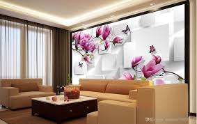 Home Decor Drawing Room by Customized Wallpaper For Walls Home Decor Living Room Natural Art