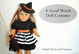 halloween witch costumes ideas american doll witch costume tutorial eat pray create