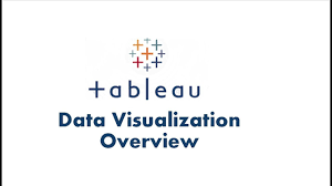 tableau visualization tutorial data visualiation in tableau tableau data visualization overview