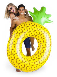 amazon com bigmouth inc giant pineapple pool float toys u0026 games