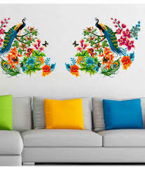 home decor upto 85 off buy decoration items lights home stickerskart nature pvc wall stickers