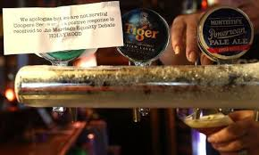 like light beers crossword coopers pulls bible society beer after marriage equality video