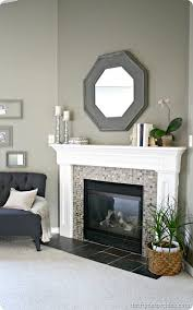 How To Decorate A Non Working Fireplace Diy Faux Fireplace Tutorial The Pursuit Of Handyness I Like