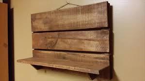 pallet kitchen or bathroom shelf pallet furniture diy