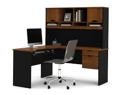 Office Desk With Hutch L Shaped by Bestar Innova L Shape Executive Desk With Hutch U0026 Reviews Wayfair