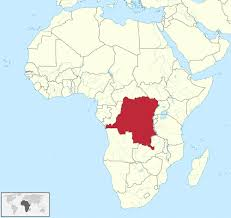 Dr Map Democratic Republic Of The Congo Map Blank Political Map With Cities