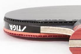 stiga pro carbon table tennis racket stiga pro carbon ping pong paddle review thepaddlepong com
