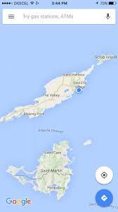 Anguilla Map Terri U0027s Travels St Martin U003e Anguilla