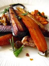 recettes de cuisine anciennes dans la cuisine de carottes anciennes rôties au four