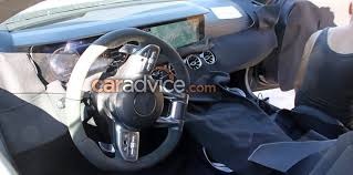 mercedes inside 2018 mercedes amg gt4 spied inside and out