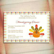 template thanksgiving dinner invitation template