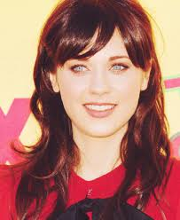 should i get bangs for my hair to hide wrinkles maybe i ll get bangs my style pinterest zooey deschanel and