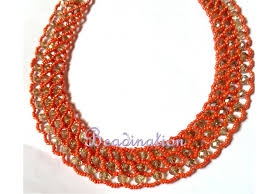 Costume Jewelry Unique Beaded Design New Abuja Connection Necklace Tutorial Youtube