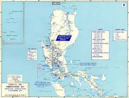 Map Of Southeast America by Map Of Wwii Luzon 1941