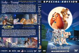 lady tramp collection dvd cover 1955 2001 r1 custom