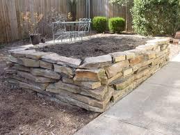 Raised Rock Garden Beds Fall Rock Raised Garden Beds Best Raised Beds Ideas Bed