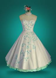 243 best vintage tea length wedding dresses images on pinterest