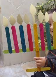 Jewish Decorations Home Make Cute Chanukah Decorations From Popsicle Sticks Creative