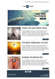 12 free and professional newsletter templates for gyms and fitness