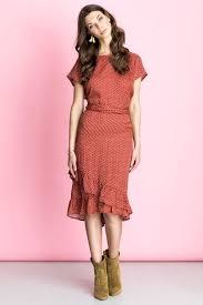 lollys laundry dress rød kjole fra lollys laundry laundry