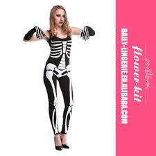 screaming skeleton halloween woman black skull costume scary grim
