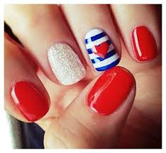 Easy Cute Nail Designs To Do At Home  Photos Of The Cool Easy - Easy design for nails to do at home